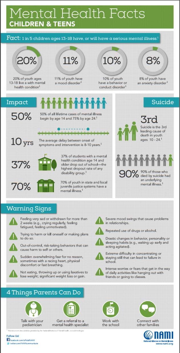 Mental Health Statistics for South Central Pennsylvania